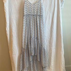 Francesca's high-low dress.
